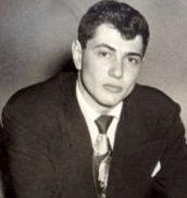 Geoff in Milton's suit