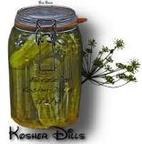 jewish dill pickles